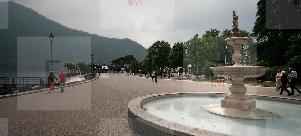 Fountain in Cernobbio