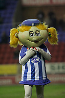 Photo: Dave Howarth.<br /> Wigan Athletic v Bolton Wanderers. Carling Cup.<br /> 20/12/2005.  Wigan mascot
