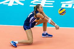 16-10-2018 JPN: World Championship Volleyball Women day 17, Nagoya<br /> Italy - Serbia / Elena Pietrini #14 of Italy
