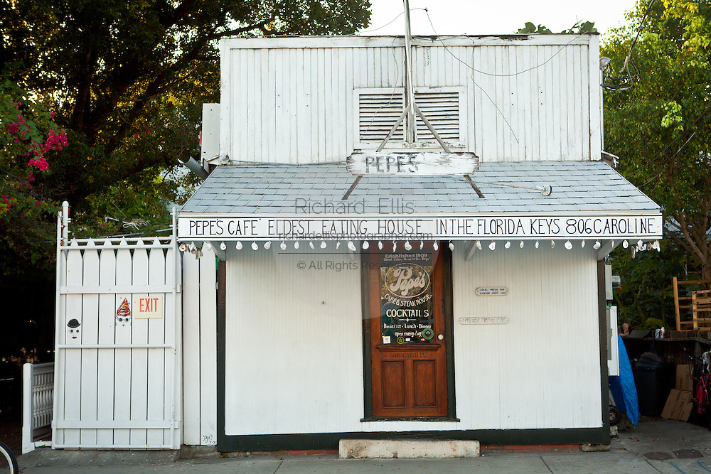 Pepe's Cafe restaurant Key West, Florida.