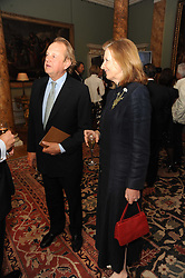 A party to promote the exclusive Puntacana Resort & Club - the Caribbean's Premier Golf & Beach Resort Destination, was held at Spencer House, London on 13th May 2010.<br /> <br /> Picture shows:-Centre & right, MR & MRS IAN BOND