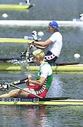 2002 FISA World Cup. Hazewinkel. BEL.       Friday  14/06/2002     .email images@Intersport-images.com.[Mandatory Credit: Peter Spurrier/Intersport Images]  .                                 /06/2002.Rowing. .BLR. W1X. Ekaterina KARSTEN (b) Rowing, FISA WC.Hazenwinkel, BEL