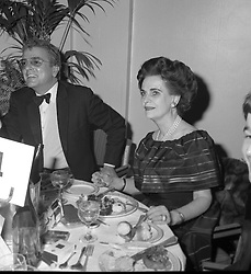 NICKY HASLAM and MARGARET, DUCHESS OF ARGYLL at a ball at the park Lane Hotel in October 1978.
