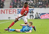 v.l. Jhon Cordoba (Mainz), Matthias Ostrzolek<br /> Mainz, 17.12.2016, Fussball, Bundesliga, 1. FSV Mainz 05 - Hamburger SV<br /> Norway only