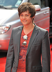 © Licensed to London News Pictures. 24/07/2011. London, England.Tyger Drew Honey attends the World premiere of Horrid Henry at the BFI on Londons Southbank. Photo credit : ALAN ROXBOROUGH/LNP