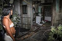 Brasil - ES - Vila Velha - 01/01/2016 - Deslizamento de pedras no morro da Boa Vista, bairro Sao Torquato, em Vila Velha. Quatro vítimas sem ferimentos graves foram identificadas Foto: Jansen Lube/Mosaico Imagem