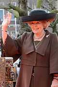 Koningin Beatrix heropent het Rijksmuseum na een verbouwing van bijna tien jaar.<br /> <br /> Queen Beatrix reopens the the Rijksmuseum after renovations of almost ten years.<br /> <br /> Op de foto / On the photo:  Koningin Beatrix / Queen Beatrix