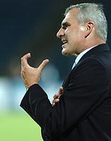 Fotball<br /> VM-kvalifisering<br /> Polen v Aserbaijan / Azerbaijan<br /> Foto: Wrofoto/Digitalsport<br /> NORWAY ONLY<br /> <br /> Pawel Janas - trener Polen
