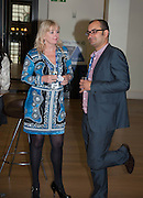DAWN ALFORD;  GLENN POUGNET, STREETSMART RAISES RECORD-BREAKING £805,000 TO TACKLE HOMELESSNESS. Celebrate with a drinks party at the Cabinet Office. Horse Guards Rd. London. 13 May 2013.