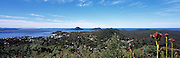 View from Gan Gan Lookout of Port Stephens, NSW, Australia