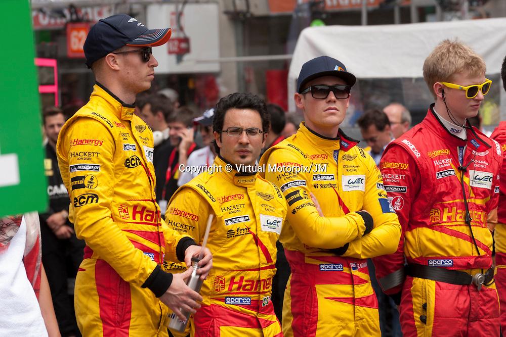 Alex MacDowall, Fernando Rees, Richie Stanaway, Aston Martin Racing, #99, Le Mans 24H 2015