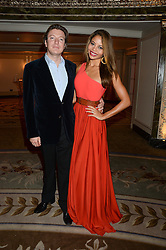 VISCOUNT & VISCOUNTESS WEYMOUTH at the inaugural Stephen Lawrence Memorial Ball held at The Dorchester, Park Lane, London on 17th October 2013.