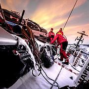 Leg 01, Alicante to Lisbon, day 05, on board MAPFRE. Photo by Ugo Fonolla/Volvo Ocean Race. 26 October, 2017