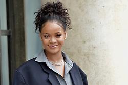 July 27, 2017 - Paris, France - Rihanna arrives at Elysee Palace to meet Emmanuel Macron. (Credit Image: © Visual via ZUMA Press)