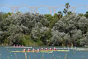 Seville. Andalusia. SPAIN. General views of the Regatta Course, 2013 FISA European Rowing Championship.  Guadalquivir River.  Saturday   01/06/2013  [Mandatory Credit. Peter Spurrier/Intersport]