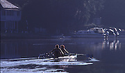 © 2000 All Rights Reserved - Peter Spurrier Sports Photo. GBR W2X Training at Marlow  - Gillian Lindsay and Miriam Batten. [Mandatory Credit, Peter Spurrier/ Intersport Images].