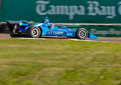 March 9, 2019 - St. Petersburg, FL, U.S. - ST. PETERSBURG, FL - MARCH 09: Chip Ganassi Racing driver Ed Jones (10) of United Arab Emirates during the NTT IndyCar Series - Firestone Grand Prix Qualifying on March 9 in St. Petersburg, FL. (Photo by Andrew Bershaw/Icon Sportswire) (Credit Image: © Andrew Bershaw/Icon SMI via ZUMA Press)