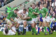 Twickenham. Surrey, UK., 16th February 2002, Six Nations International Rugby,  RFU Stadium, England vs Ireland,  [Mandatory Credit: Peter Spurrier/Intersport Images], Englands' Steve THOMPSON, <br /> <br /> The Lloyds TSB Six Nations Championship<br /> England v Ireland<br /> RFU - Twickenham<br /> 16/02/2002