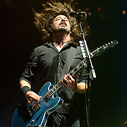 WASHINGTON, DC - November 11th, 2011 - Washington area native Dave Grohl performs with his band the Foo Fighters at the Verizon Center in Washington, D.C. The show was the band's first area appearance behind their 2010 album Wasting Light.  (Photo by Kyle Gustafson/For The Washington Post)