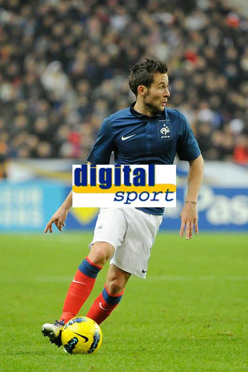 FOOTBALL - FRIENDLY GAME 2011 - FRANCE v BELGIUM - 15/11/2011 - PHOTO JEAN MARIE HERVIO / DPPI - YOHAN CABAYE (FRA)