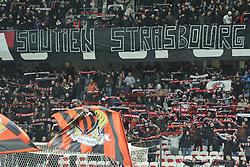 December 16, 2018 - Nice, France - Supporters Nicois - Hommage aux victimes de l attentat de starsbourg (Credit Image: © Panoramic via ZUMA Press)