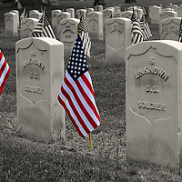 Unknown Soldier, Memorial Day, Allegheny Cemetery, Pittsburgh PA