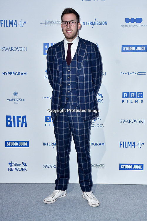 Finn Bruce attends the 22nd British Independent Film Awards at Old Billingsgate on December 01, 2019 in London, England.