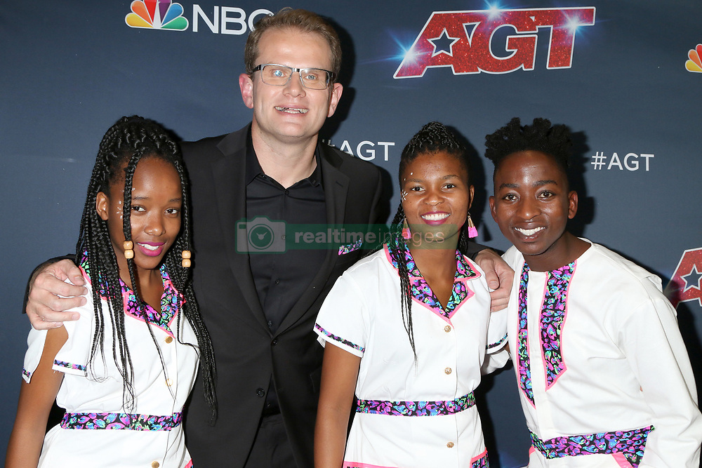September 18, 2019, Los Angeles, CA, USA: LOS ANGELES - SEP 18:  Ndlovu Youth Choir at the ''America's Got Talent'' Season 14 Finale Red Carpet at the Dolby Theater on September 18, 2019 in Los Angeles, CA  (Credit Image: © Kathy Hutchins via ZUMA Wire)