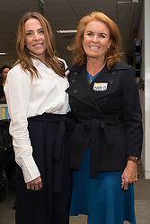 September 11, 2018 - London, London, UK - London, UK.  Mel C with Sarah Duchess of York at the 14th Annual BGC Charity Day held on the trading floor of BGC Partners in Canary Wharf, to raise money for charitable causes in commemoration of BGC's 658 colleagues and the 61 Eurobrokers employees lost on 9/11. (Credit Image: © Vickie Flores/London News Pictures via ZUMA Wire)
