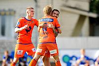 Fotball , Eliteserien<br /> 12.07.2021 , 20210712<br /> Grorud - Aalesund<br /> Aalesund feirer Niklas Fernando Nygaard Castro sitt mål til 1-0 <br /> Foto: Sjur Stølen / Digitalsport