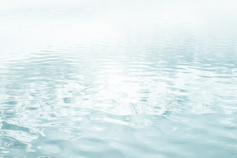 Water texture background. High key image