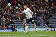 Preston North End's Jack King in action .Skybet football league one play off semi final, 1st leg match, Preston North End v Rotherham United at the Deepdale Stadium in Preston, England on Saturday 10th May 2014.<br /> pic by Chris Stading, Andrew Orchard sports photography.