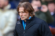 Wycombe Wanderers manager Gareth Ainsworth during the EFL Sky Bet League 1 match between Luton Town and Wycombe Wanderers at Kenilworth Road, Luton, England on 9 February 2019.