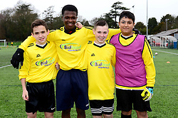 - Mandatory by-line: Dougie Allward/JMP - 24/01/2018 - FOOTBALL - Gloucester FA - Bristol, England - Bristol Rovers Futsal Tournament - Bristol Rovers Community Trust