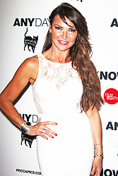 © Licensed to London News Pictures. 20/08/2013. LONDON. Lizzie Cundy,   Any Day Now Gala Screening , Apollo Piccadilly Circus, London UK, 20 August 2013. Photo credit : Brett D. Cove/Piqtured/LNP