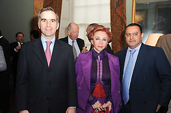 A party to promote the exclusive Puntacana Resort & Club - the Caribbean's Premier Golf & Beach Resort Destination, was held at Spencer House, London on 13th May 2010.<br /> <br /> Picture shows:- PAVLOS HORNE, CHRYSANTHY LEMOS and TARIQ AZIZ