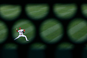ANAHEIM, CA - JUNE 17: Shohei Ohtani #17 of the Los Angeles Angels warms up in the outfield before the game between the Detroit Tigers and the Los Angeles Angels at Angel Stadium on Thursday, June 17, 2021 in Anaheim, California. (Photo by Katelyn Mulcahy/MLB Photos via Getty Images)