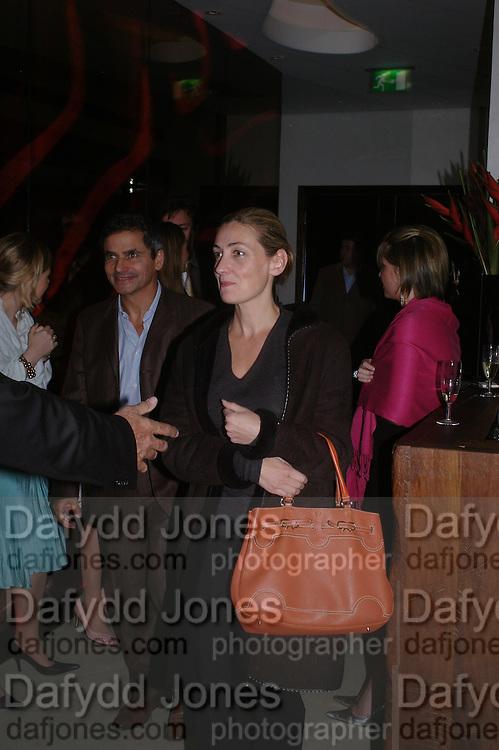 Harry Handlesman and Elizabeth Compton- Batt. 'Maze' Gordon Ramsay  restaurant launch. 10-13 Grosvenor Square. London. 24 May 2005. ONE TIME USE ONLY - DO NOT ARCHIVE  © Copyright Photograph by Dafydd Jones 66 Stockwell Park Rd. London SW9 0DA Tel 020 7733 0108 www.dafjones.com