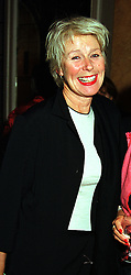 Designer BETTY JACKSON at a party in London on 22nd September 1999.MWR 65 WOLO