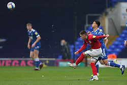 Owen Dale of Crewe Alexandra passes the ball under pressure from Andre Dozzell of Ipswich Town - Mandatory by-line: Arron Gent/JMP - 31/10/2020 - FOOTBALL - Portman Road - Ipswich, England - Ipswich Town v Crewe Alexandra - Sky Bet League One