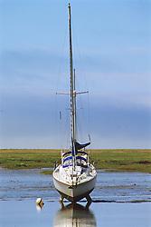 Sailboat On Dry Land