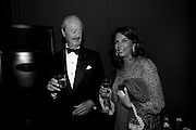 Duke of Marlborough; Lily Mahtani; Duchess of Marlborough, The Ormeley dinner in aid of the Ecology Trust and the Aspinall Foundation. Ormeley Lodge. Richmond. London. 29 April 2009