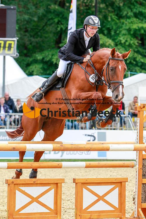 , Warendorf - Bundeschampionate  01. - 05.09.2010, Cilix S - Sabel, Johannes