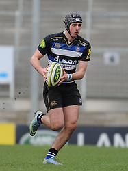 Bath's Tom Lewis.   - Mandatory byline: Alex Davidson/JMP - 07966386802 - 30/01/2016 - RUGBY - Sandy Park -Exeter,England - Exeter Chiefs u18's v Bath Rugby u18's - U18 League