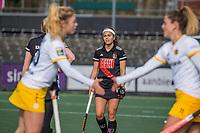 AMSTELVEEN -  Noor de Baat  de hoofdklasse hockey competitiewedstrijd dames, Amsterdam-Den Bosch (0-1)  COPYRIGHT KOEN SUYK