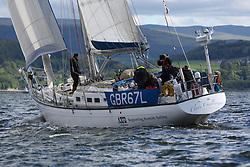 The Silvers Marine Scottish Series 2014, organised by the  Clyde Cruising Club,  celebrates it's 40th anniversary.<br /> Day 1<br /> <br /> GBR67L, Clyde Challenger, G Porter, CCC, Colvic 60<br /> <br /> Racing on Loch Fyne from 23rd-26th May 2014<br /> <br /> Credit : Marc Turner / PFM