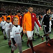 Galatasaray's Burak Yilmaz during their Turkish Super League soccer derby match Besiktas between Galatasaray at the Ataturk Olimpiyat stadium in Istanbul Turkey on Monday, 14 December 2015. Photo by Aykut AKICI/TURKPIX