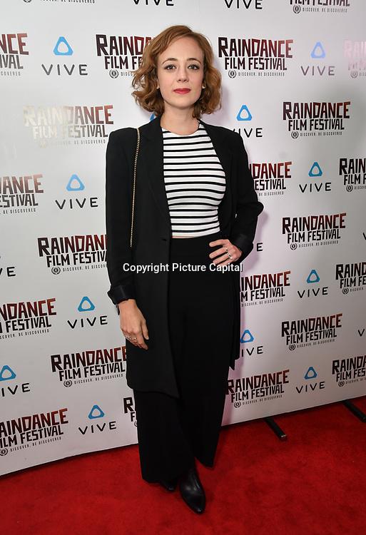Sara Lazzaro is a actress attends the Raindance Film Festival - VR Awards, London, UK. 6 October 2018.