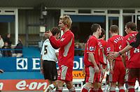 Photo: Kevin Poolman.<br />Luton Town v Blackburn Rovers. The FA Cup. 27/01/2007. Morten Gamst Pedersen of Blackburn celebrates his goal.
