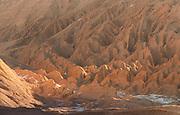 High angle view of rocky desert, Valle de la Luna, Atacama Desert, Chile